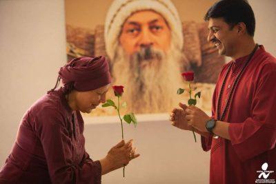 Mystic Rose - Ma Neelam and Swami Naman